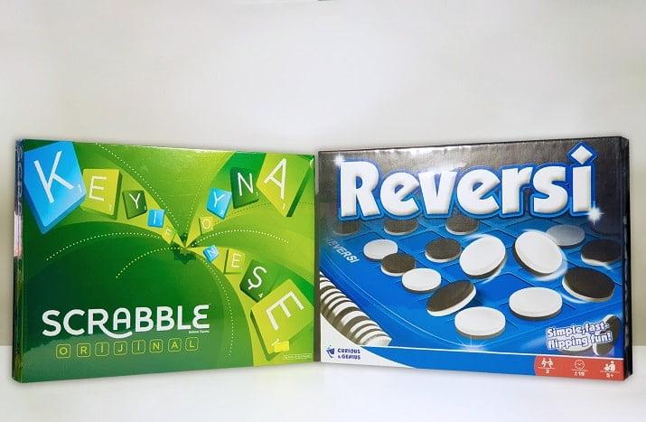 Reversi Oyun - Scrabble Oyun